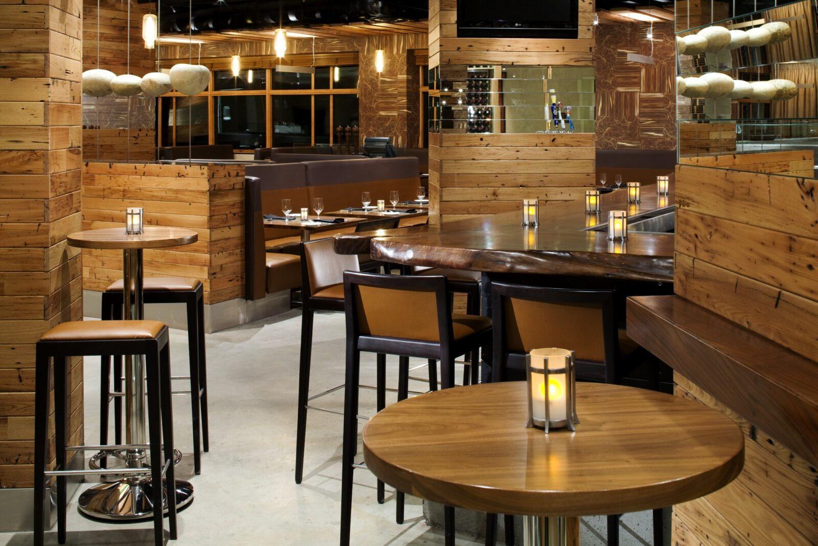 bars & restaurants - namco refurbs