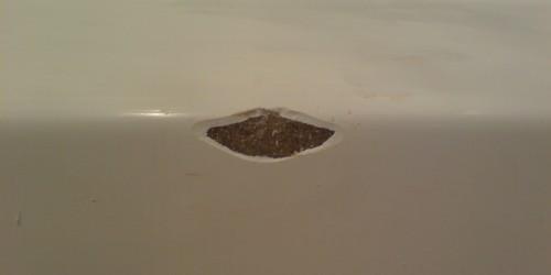 shower tray chip repairs