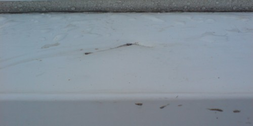CRACKED SILL REPAIR