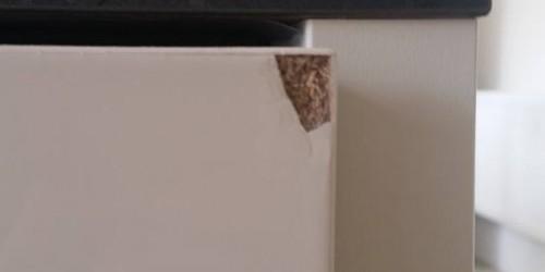 CHIPPED CUPBOARD DOOR REPAIR