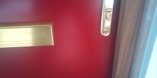 metal door scratch repairs