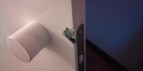 chipped door repairs