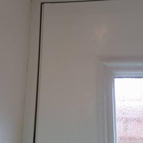 powder coated door repair