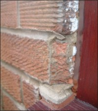 CHIPPED BRICKS CAN BE REPAIRED