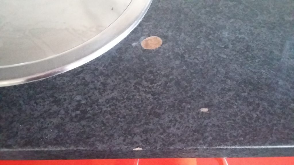 Heat Blister Worktop Repair After 2 Namco Refurbs