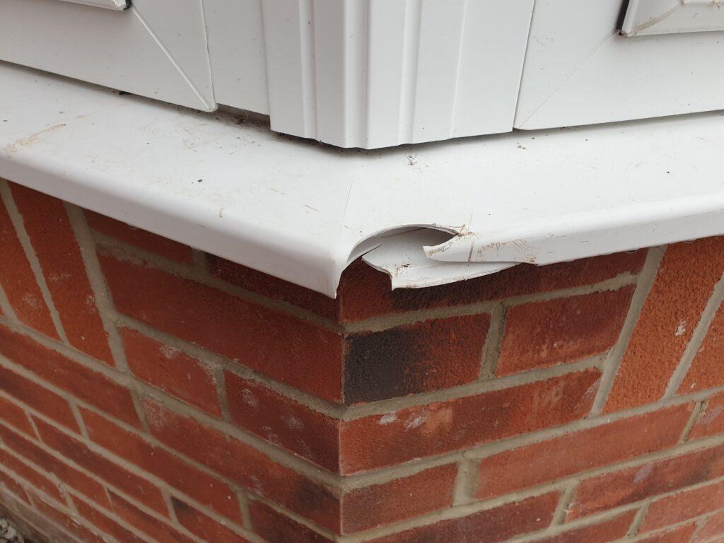 PLASTIC UPVC DOOR WINDOW FRAME SILL REPAIRS - Namco Refurbs