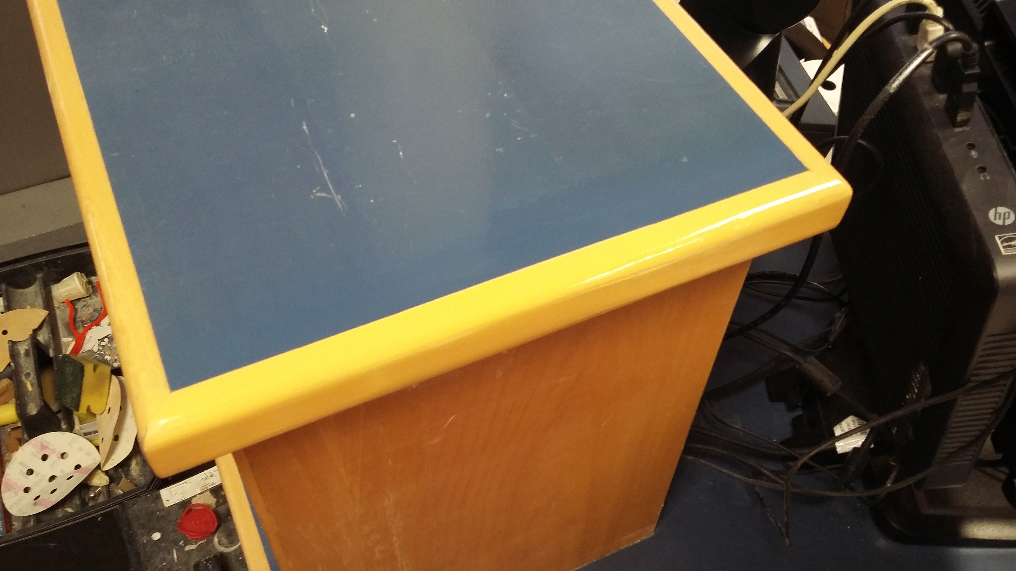 DAMAGED RECEPTION COUNTER REPAIRS