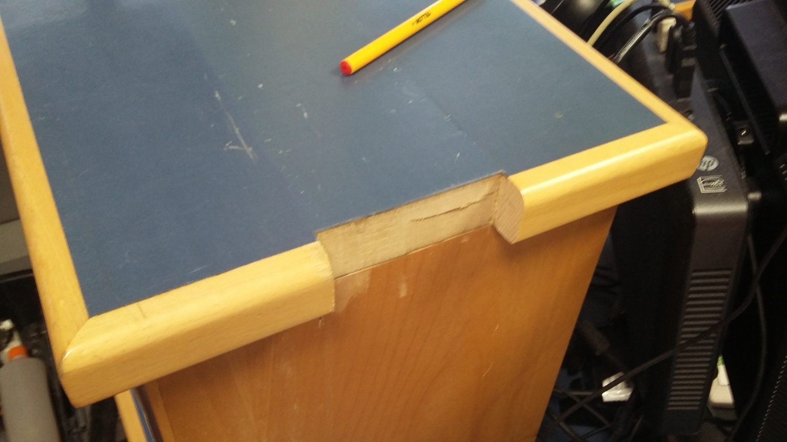 reception counter repairs and refurbishments  namco refurbs