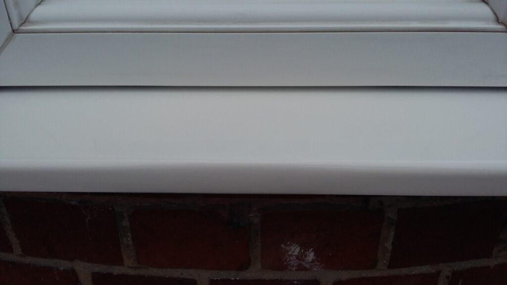 Window Frame Spray Painting Colour Change Namco Refurbs