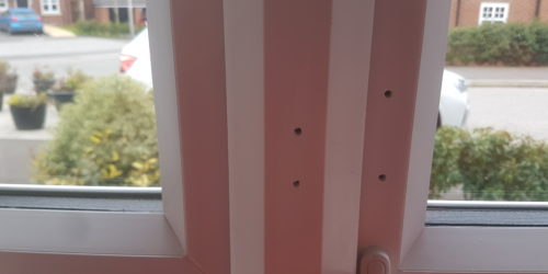 UPVC PLASTIC BEDROOM KITCHEN TOILET PATIO WINDOW FRAME SCREW HOLE SCRATCH CHIP DENT BURN REPAIR REFURBISHMENT LAND LORD MAINTENANCE SERVICE 7