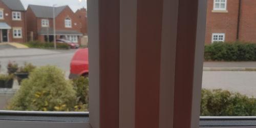 UPVC PLASTIC BEDROOM KITCHEN TOILET PATIO WINDOW FRAME SCREW HOLE SCRATCH CHIP DENT BURN REPAIR REFURBISHMENT LAND LORD MAINTENANCE SERVICE 8