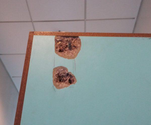 DAMAGED DOOR REPAIR SCRATCH CHIP DENT BURN REFURBISHMENT