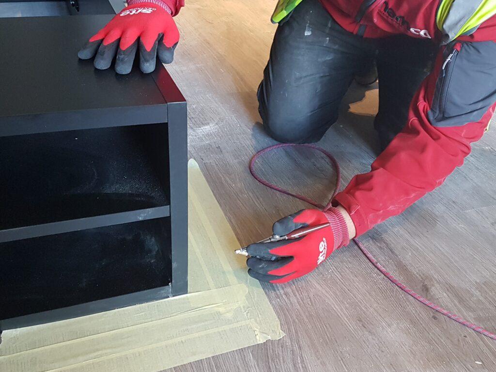 FITTED BEDROOM FURNITURE REPAIR TABLES DESK SHELVE UNITS BEDSIDE CABINET