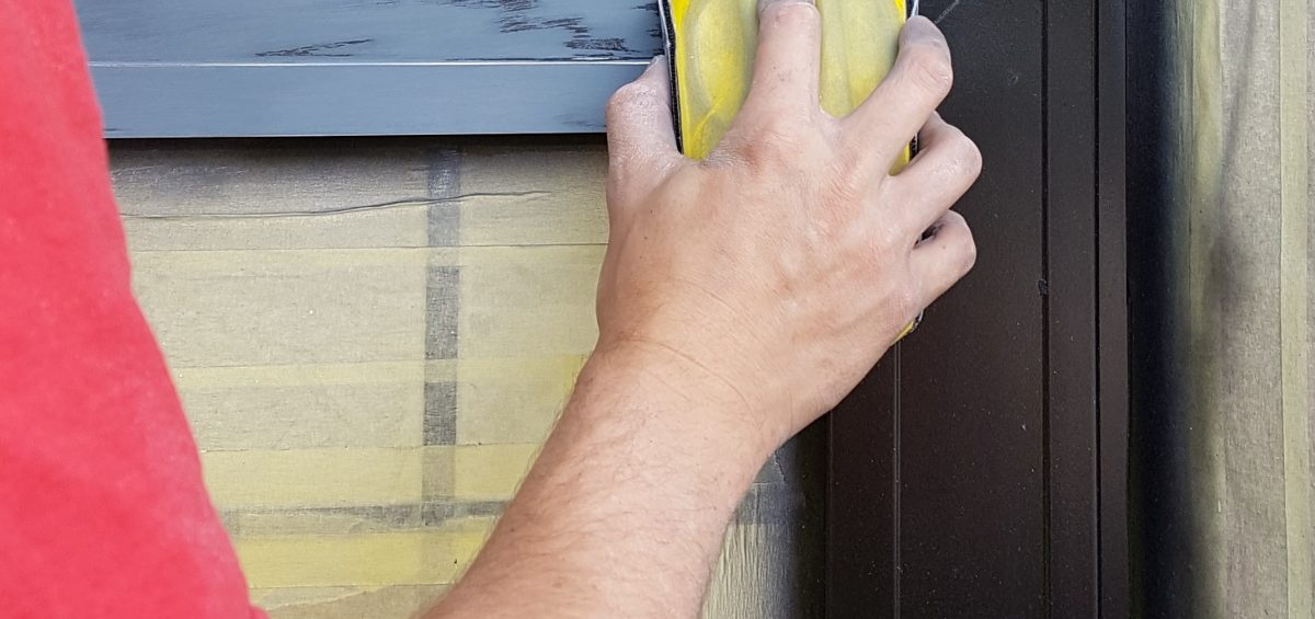 WINDOW FRAME SPRAY PAINTING MANCHESTER