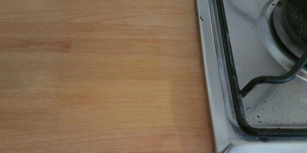 WORKTOP BURN MARK REPAIR SCRATCH CHIP DENT HEAT BLISTER PAN BURN REPAIRS