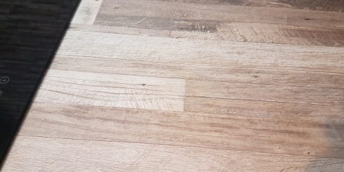 LAMINATED KITCHEN WORKTOP CHIP REPAIR AFTER PICTURE