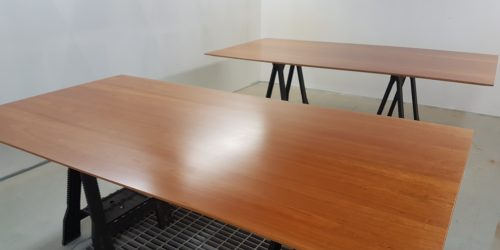 BOARD ROOM TABLE REFURBISHMENT STRIP DOWN REFINISH FRENCH POLISHING SCRATCH CHIP DENT REPAIR SPRAY BOOTH AFTER (1)