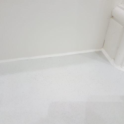 CRACKED BATHROOM FLOOR TILE REPAIR