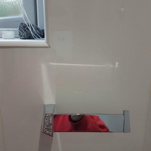 CRACKED BATHROOM WALL TILE REPAIR AFTER