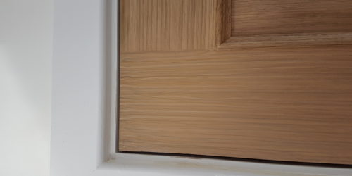 INTERNAL WOODEN DOOR CHIP SCRATCH WATER DAMAGE REPAIR AFTER