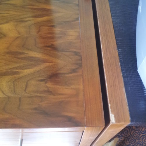 SCRATCHED BEDROOM FURNITURE REPAIRS CHIP BURN