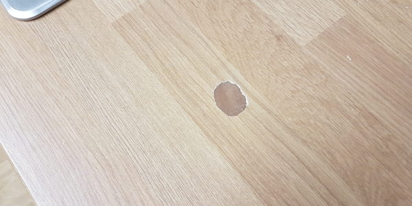 KITCHEN WORKTOP PAN BURN HEAT BLISTER CHIP SCRATCH WATER DAMAGE REPAIR MANCHESTER AFTER (2)