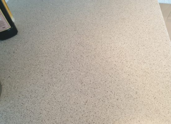 KITCHEN LAMINATED WORKTOP PAN BURN REPAIR AFTER WARRINGTON
