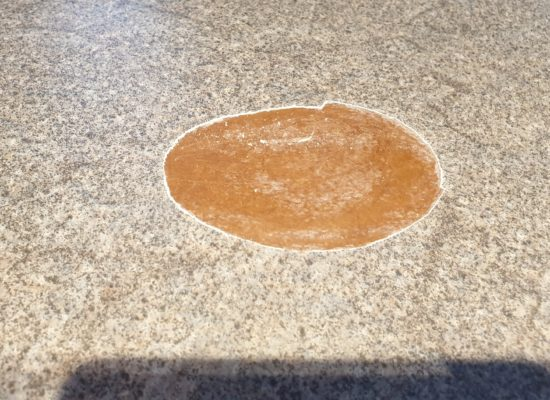 KITCHEN WORKTOP PAN BURN REPAIR LAMINATE MANCHESTER