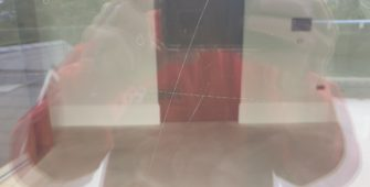 SCRATCHED GLASS SURFACE MANCHESTER BEFORE
