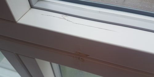 WOODEN WINDOW FRAME REPAIRS MANCHESTER BEFORE