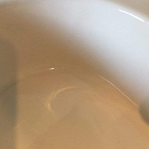 BATHROOM PORCELAIN SINK REPAIR AFTER