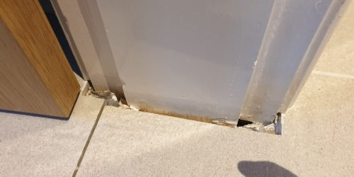 POORLY FITTED TILE REPAIR MANCHESTER