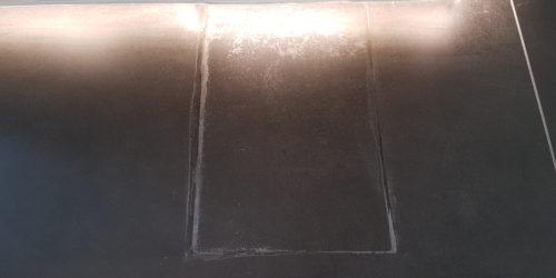 TILE REPAIR SOCKET BOX CUT OUT WRONGLY BEFORE
