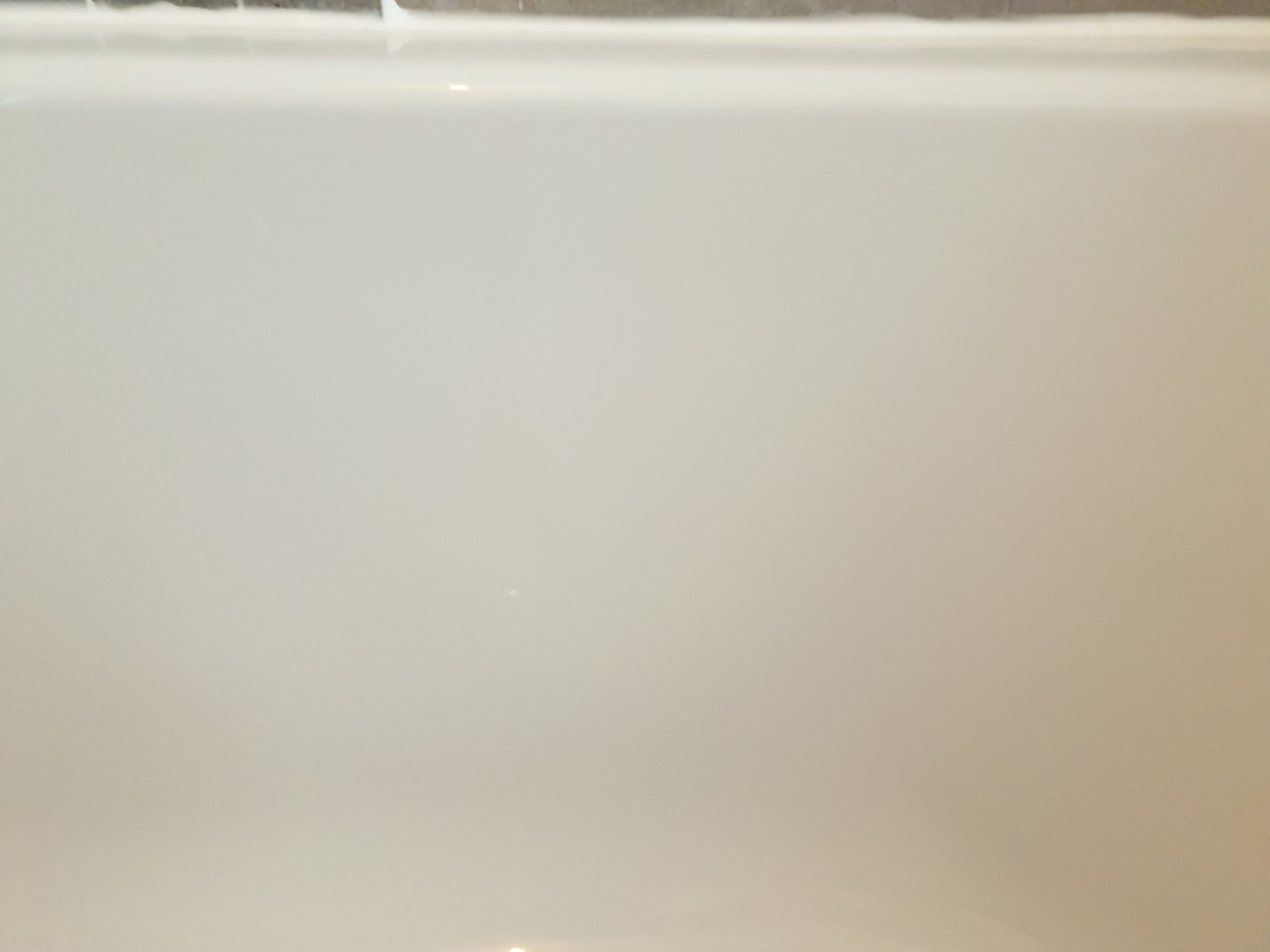 CRACKED PLASTIC BATH REPAIR AFTER