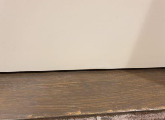 DAMAGED HOTEL LAMINATE DOOR REPAIR CHIP 2