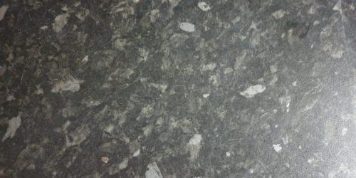 BLACK KITCHEN WORKTOP PAN BURN HEAT BLISTER REPAIR BEFORE