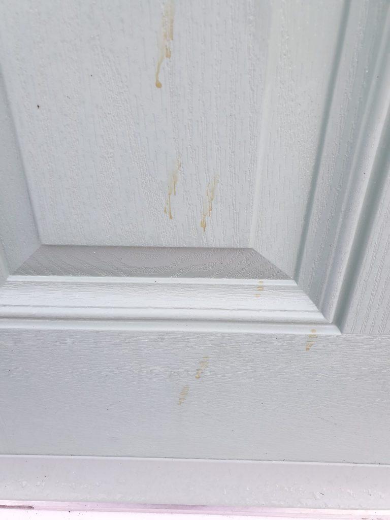 CHARTWELL COMPOSITE DOOR SCRATCH CHIP REPAIR