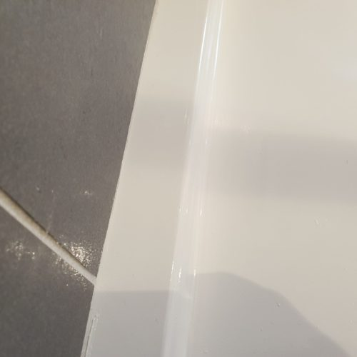 BADLY CRACKED SHOWER TRAY REPAIR MANCHESTER AFTER