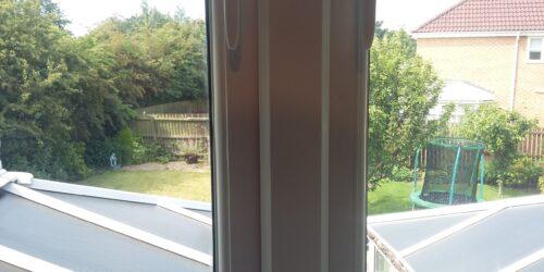 PLASTIC WINDOW BURN REPAIR