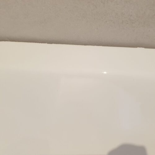 BADLY DAMAGED CRACKED CHIPPEDPLASTIC ENAMEL BATH REPAIR MANCHESTER AFTER