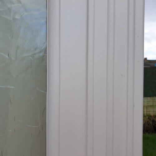 UPVC PLASTIC CONSERVATORY WINDOW DOOR FRAME CRACK CHIP SCRATCH DENT REPAIR MANCHESTER AFTER