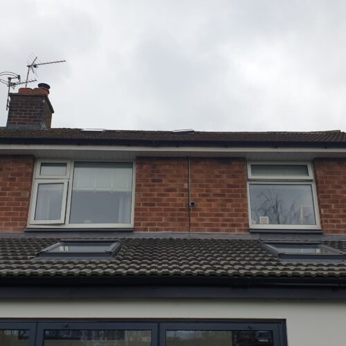 PVCU UPVC PLASTIC WINDOW FRAME SPRAYING SERVICE BEFORE