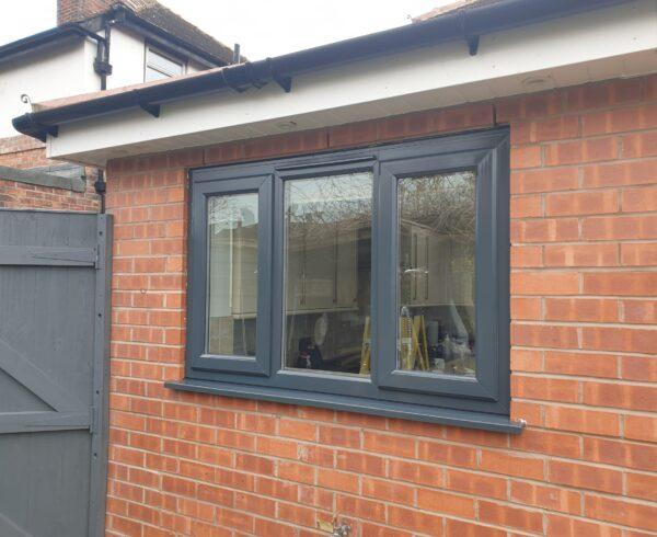 UPVC PLASTIC WINDOW DOOR FRAME SPRAYING MANCHESTER AFTER