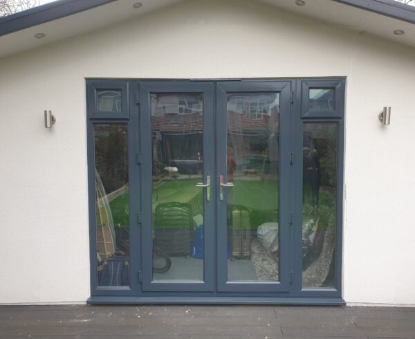 UPVC PLASTIC WINDOW FRAME SPRAY PAINTING COLOUR CHANGE AFTER
