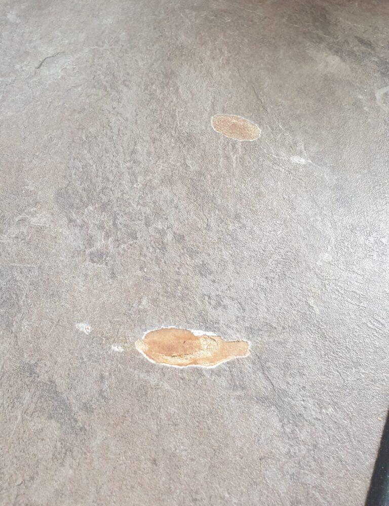KITCHEN WORKTOP PAN BURN HEAT BLISTER REPAIR AND REFURBISHMENT MANCHESTER