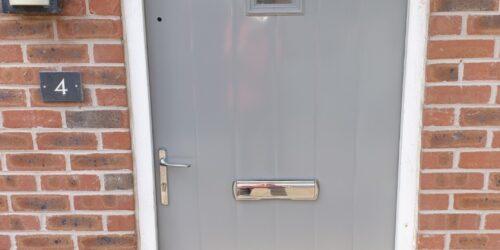 COMPOSITE WOODEN METAL UPVC PLASTIC FRONT DOOR REPAIRS AND REFURBISHING AFTER